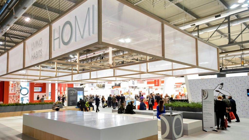 Homi Milano 2017 design furniture exhibition