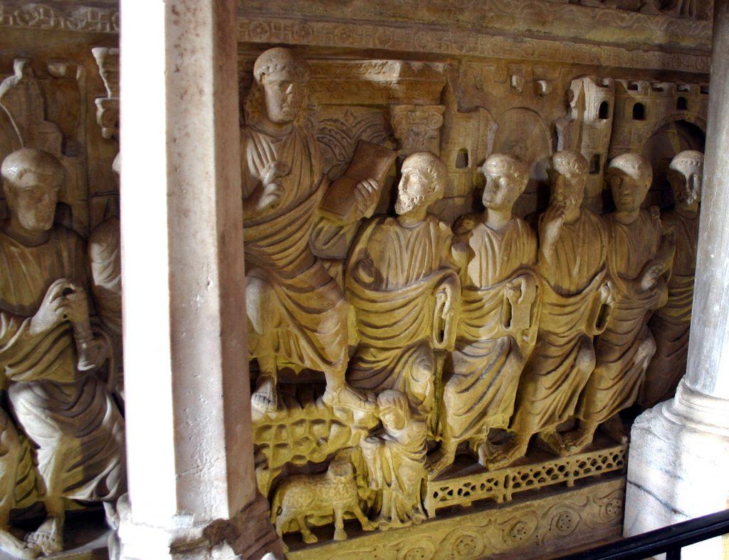 Sarcofago Stilicone basilica sant'Ambrogio milan italy roman empire