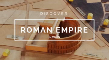 Discover Roman Empire in Milan italy ruins walking tour private tour bike tour