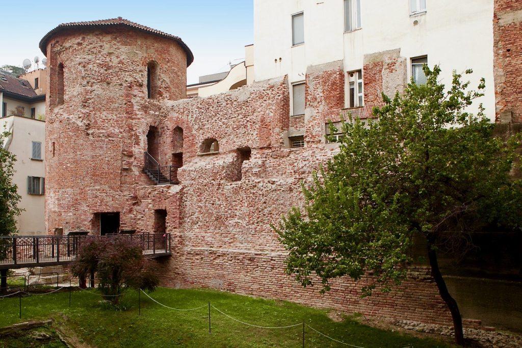 Polygonal Tower corso Magenta 15 Milan Roman Empire Attraction Italy