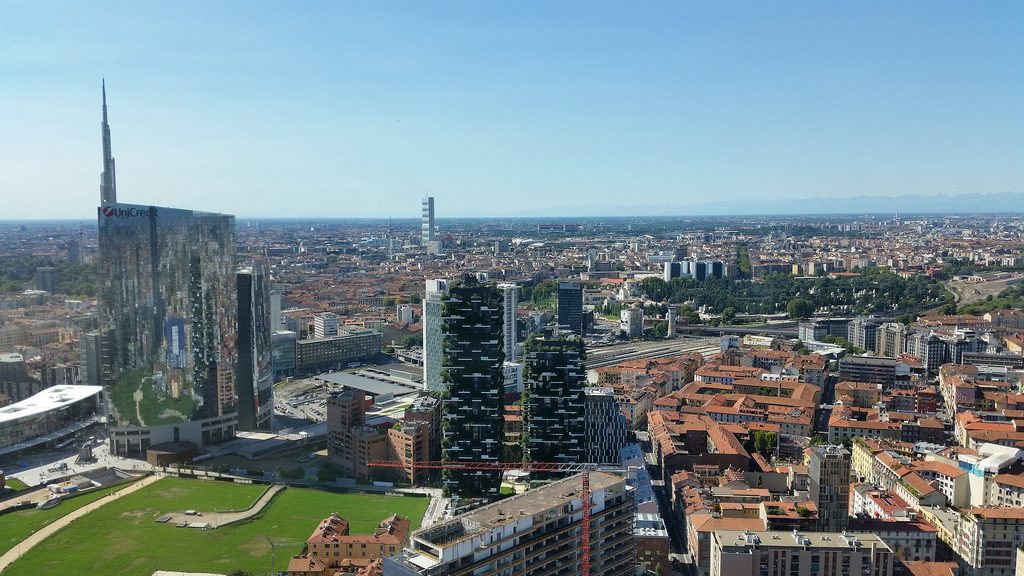 belvedere skyscraper palazzo Lombardia panorama