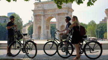 Milan City Tour Private Bike Tour Milano Arco della Pace