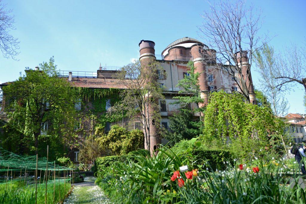 Orto Botanico Brera Milan Italy