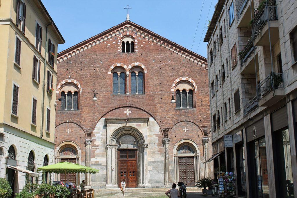 chiesa san implicano milano italy