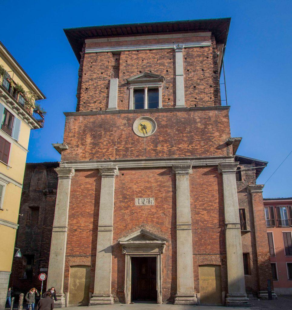 basilica san Nazaro in brolo milan italy
